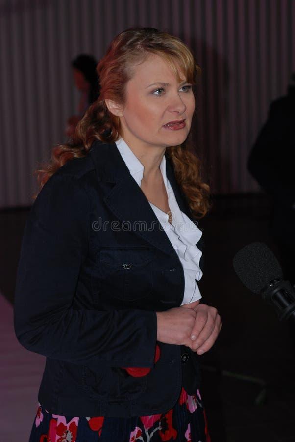 Katarzyna Piekarska Vice-President of the SLD stock photos