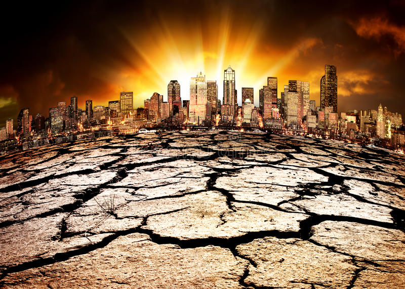 katastrofa środowiskowa zdjęcie royalty free
