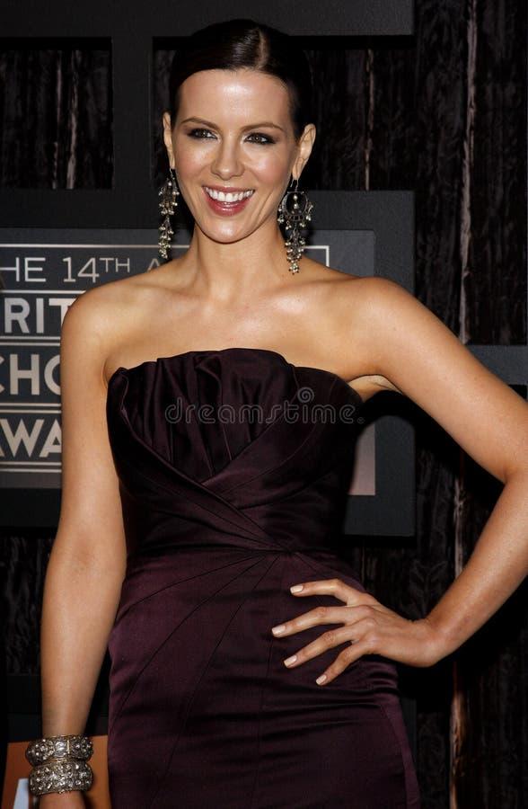 Kate Beckinsale stock foto