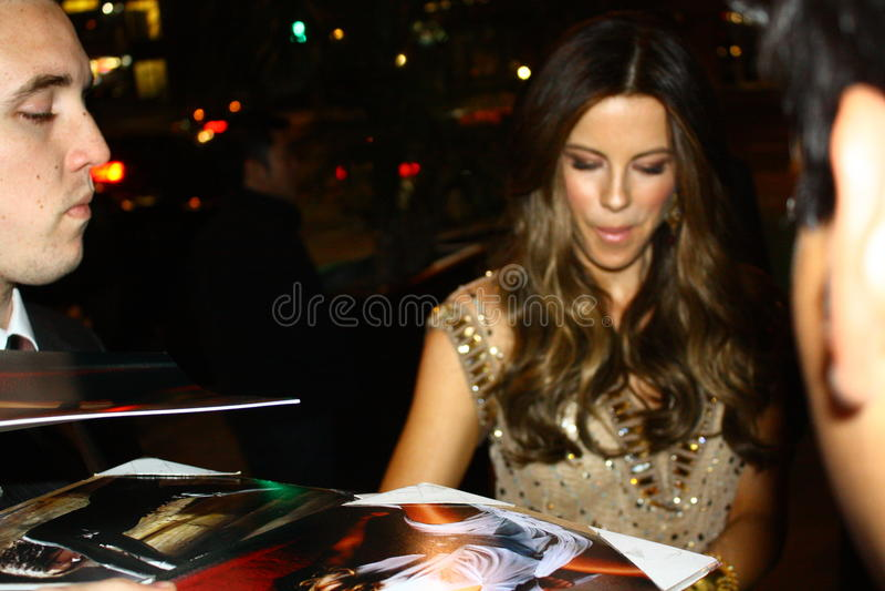 Kate Beckinsale royalty-vrije stock fotografie
