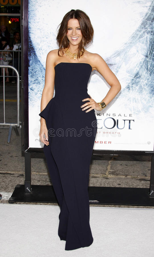 Kate Beckinsale stock fotografie