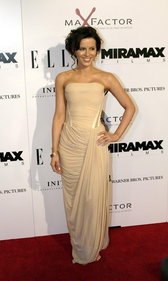 Kate Beckinsale stock afbeelding