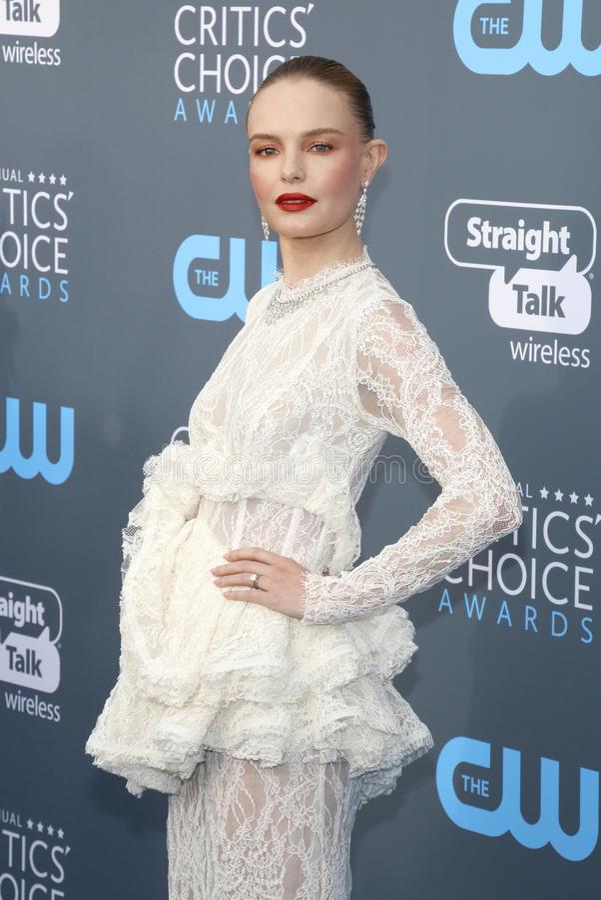 Kate Bosworth 免版税库存图片