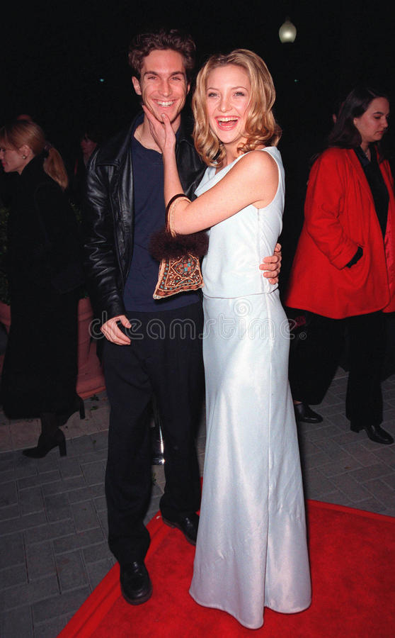 Kate Hudson, Goldie, Goldie Hawn, wigilia obraz stock