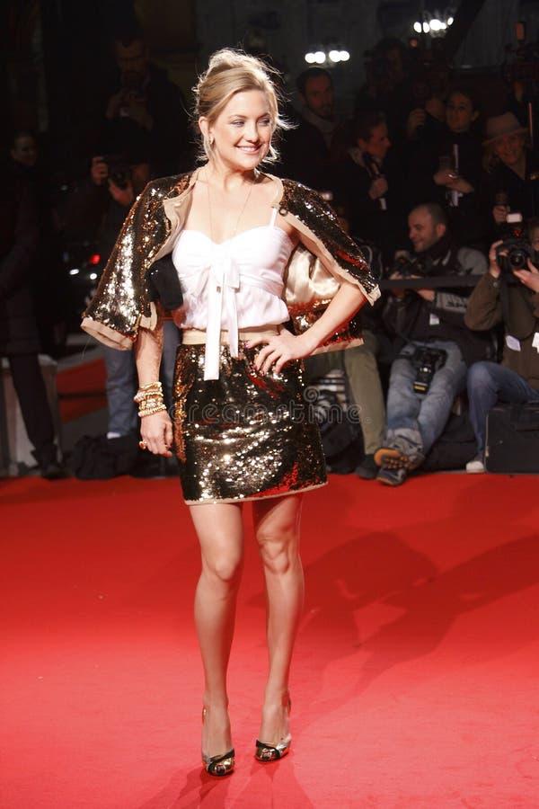 Kate Hudson uczęszcza Krańcowego piękna Modnego przyjęcia zdjęcia stock