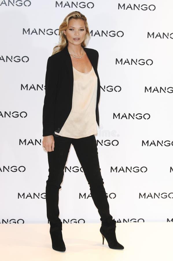 Kate Moss fotografie stock