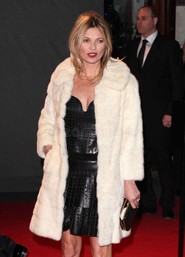 Kate Moss. Arriving for the 2013 British Fashion Awards, at The London Coliseum, London. 02/12/2013 Picture by: Alexandra Glen / Featureflash stock images