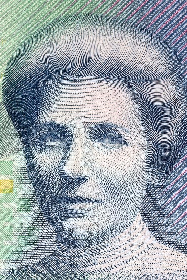 Kate Sheppard a portrait royalty free stock images