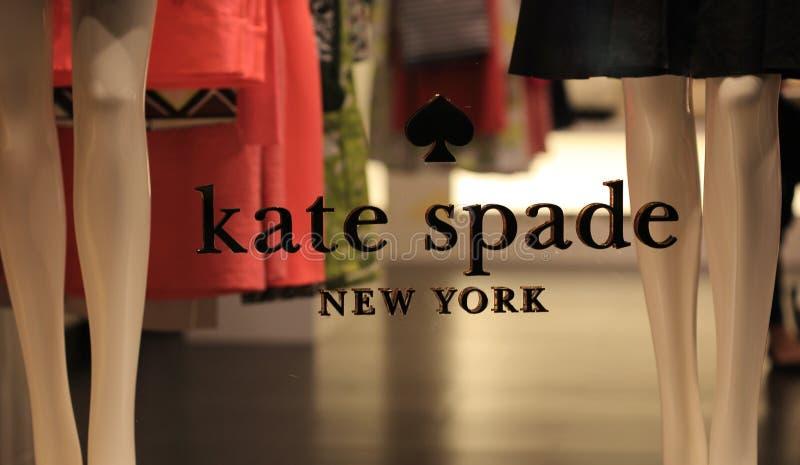 Kate Spade New York royalty-vrije stock afbeelding
