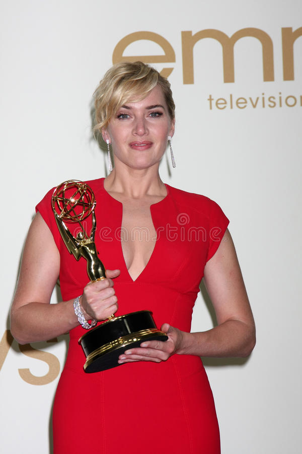 Download Kate Winslet editorial stock image. Image of 2011, emmy - 22913029