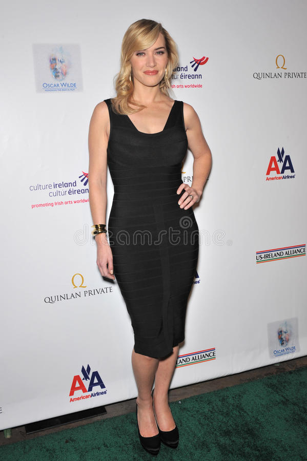 Kate Winslet. At the US-Ireland Alliance Oscar Wilde Gala honoring the Irish in Film, at the Ebell Club, Los Angeles. February 19, 2009 Los Angeles, CA Picture royalty free stock photos