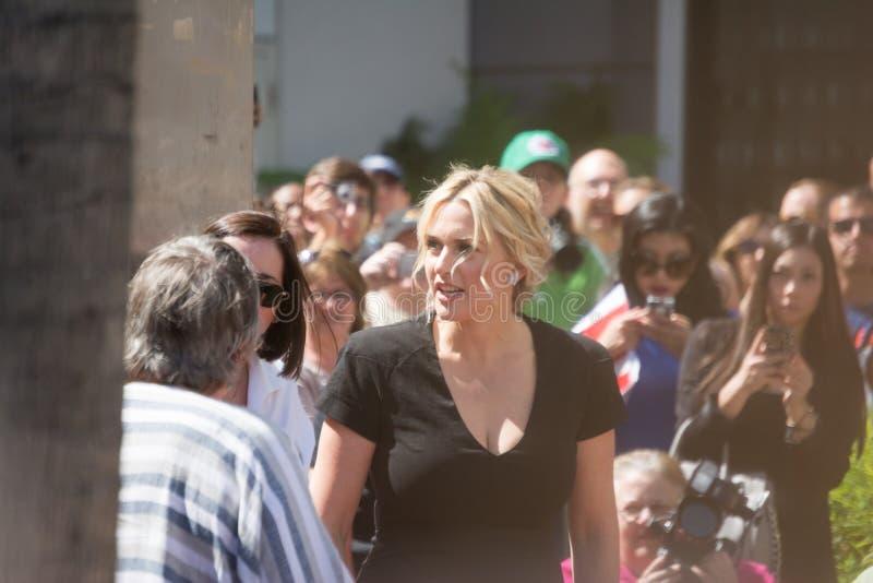 Kate Winslet Walk van Bekendheid stock foto