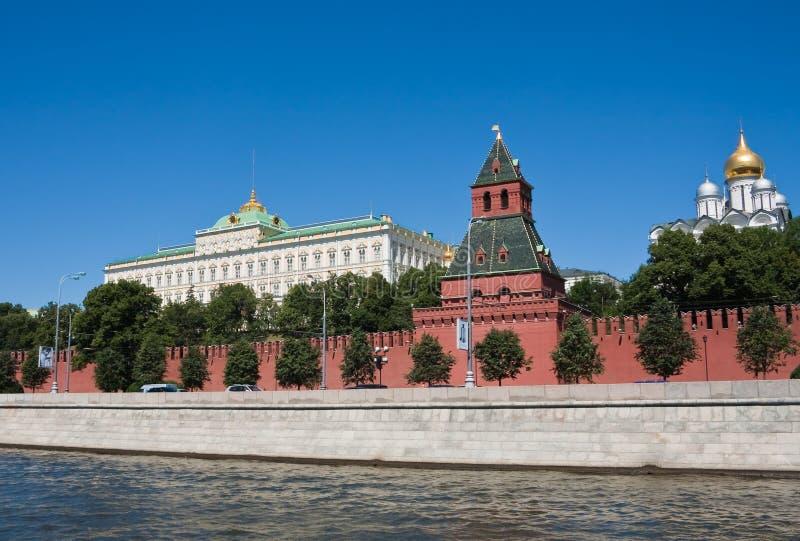 katedr kreml Kremlin Moscow pałac ściana zdjęcia stock