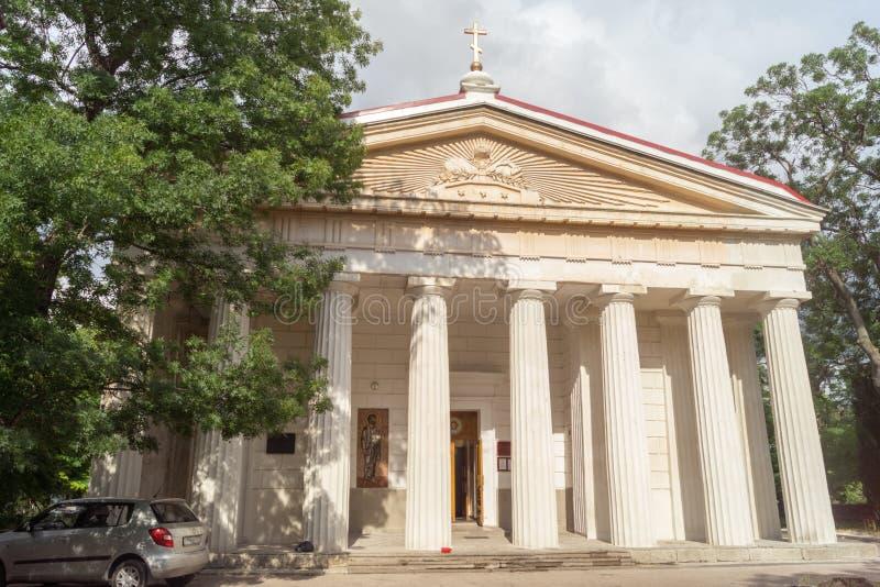 Katedra Święci apostołowie Peter i Paul w Sevastopol obrazy royalty free