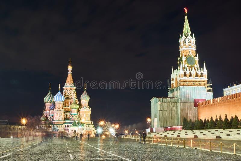 Katedra św. Bazylego, Moskwa, Rosja fotografia royalty free