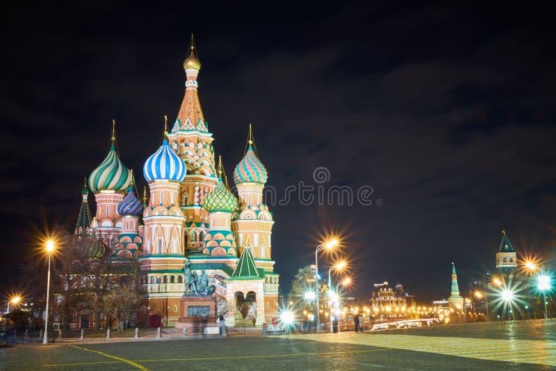 Katedra św. Bazylego, Moskwa, Rosja zdjęcia stock