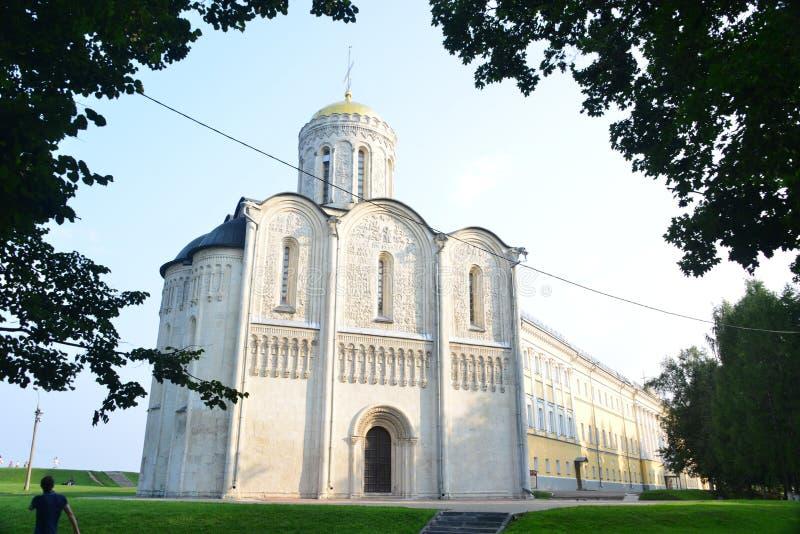 Katedra święty Demetrius w Rosja obrazy royalty free