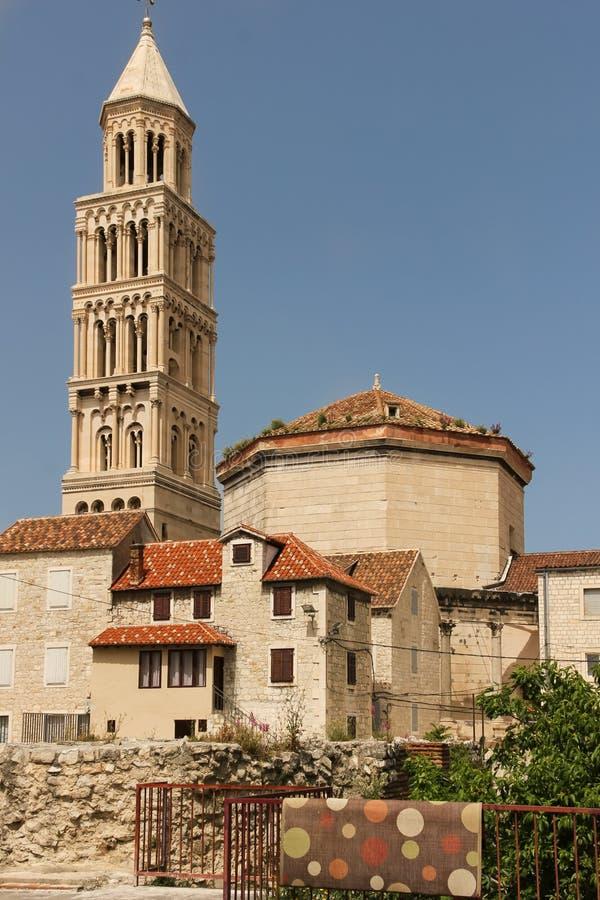 Katedra święty Domnius rozłam Chorwacja obraz royalty free