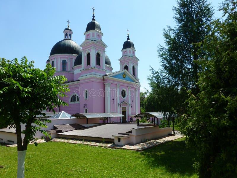 Katedra Święty duch w Chernivtsi zdjęcie stock