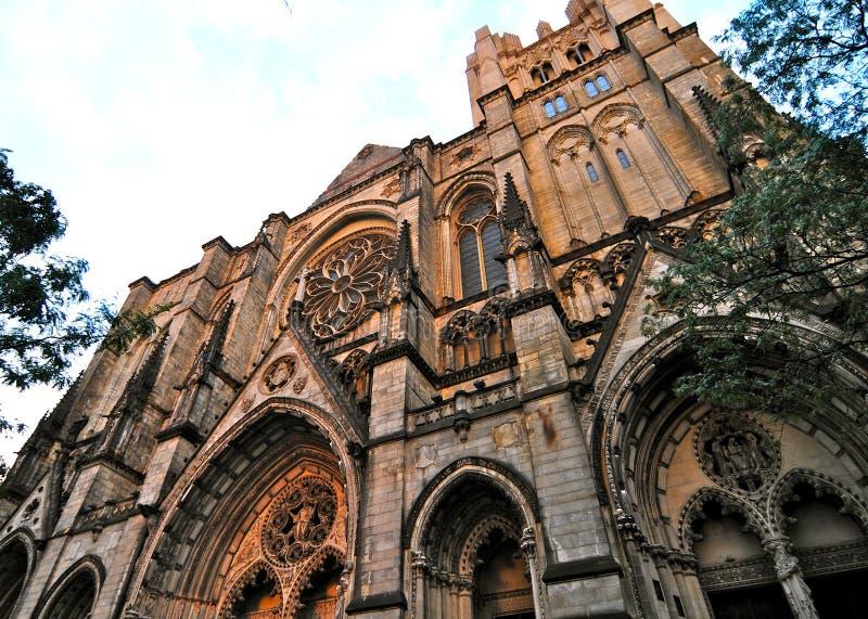 Katedra święty John Boski w Morningside wzrostach, NYC fotografia stock