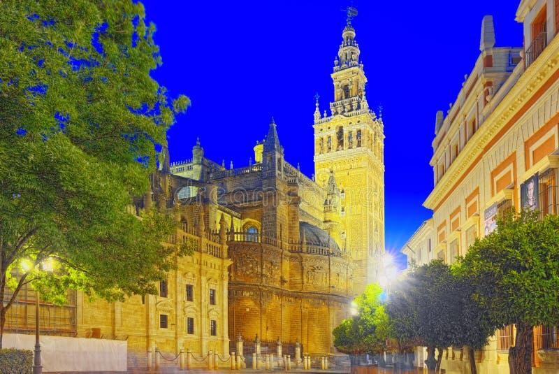 Katedra święty Mary widzieć Catedral De Santa Maria de l fotografia royalty free