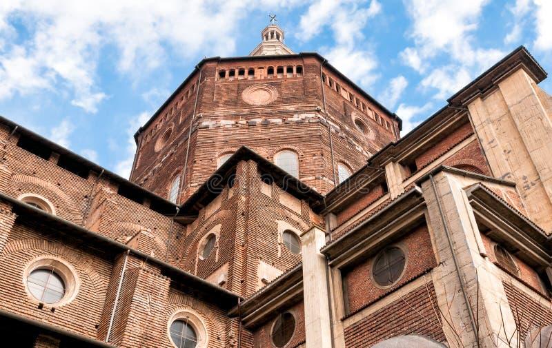 Katedra święty Stephen Pavia, Włochy obrazy royalty free