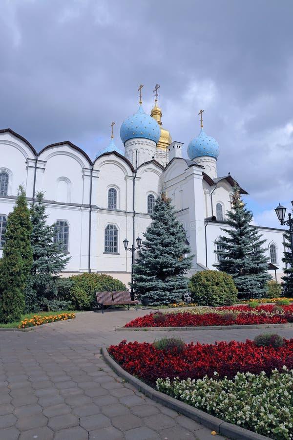 Katedra Annunciation w Kazan obraz royalty free