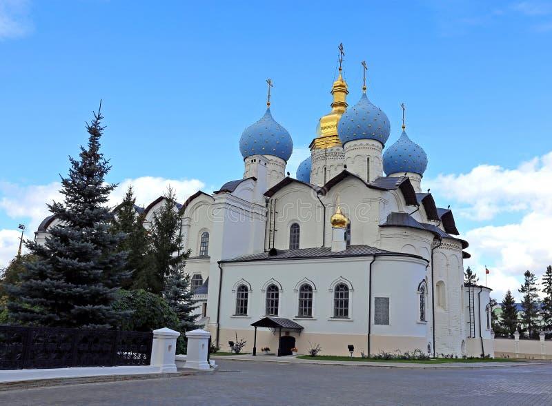 Katedra Annunciation w Kazan zdjęcie stock