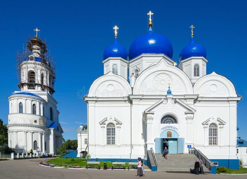 Katedra Bogolyubsk ikona Nasz dama, St Bogolyubsky monast obraz stock