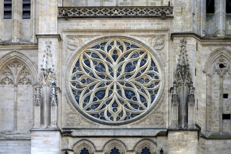 katedra bordo France fotografia royalty free