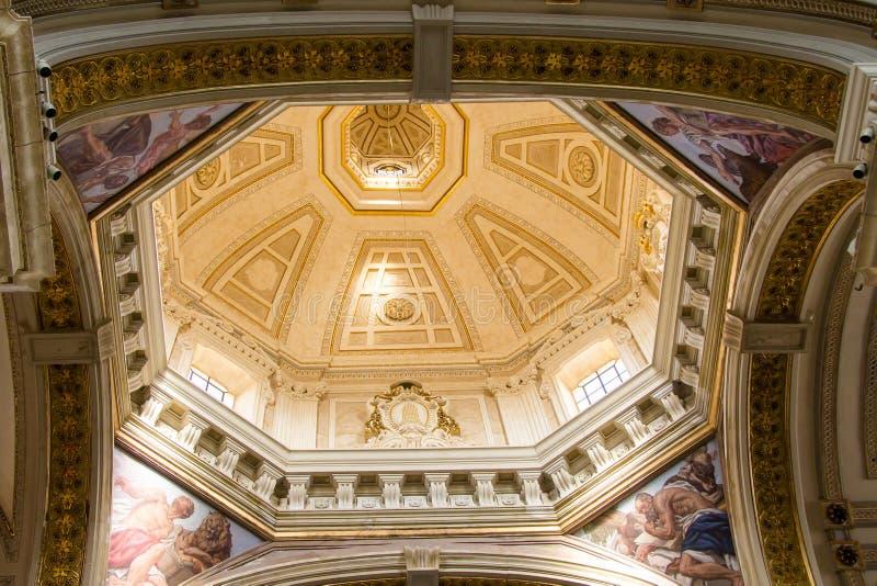 Katedra Cagliari fotografia stock