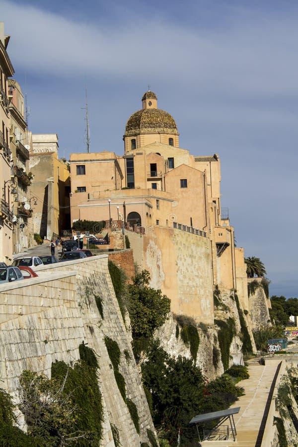 Katedra Cagliari, Sardinia - zdjęcie royalty free