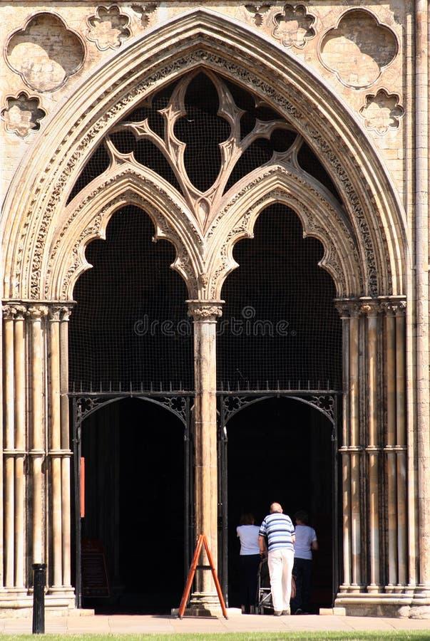 katedra cambridgeshire ely wielkiej brytanii zdjęcie royalty free