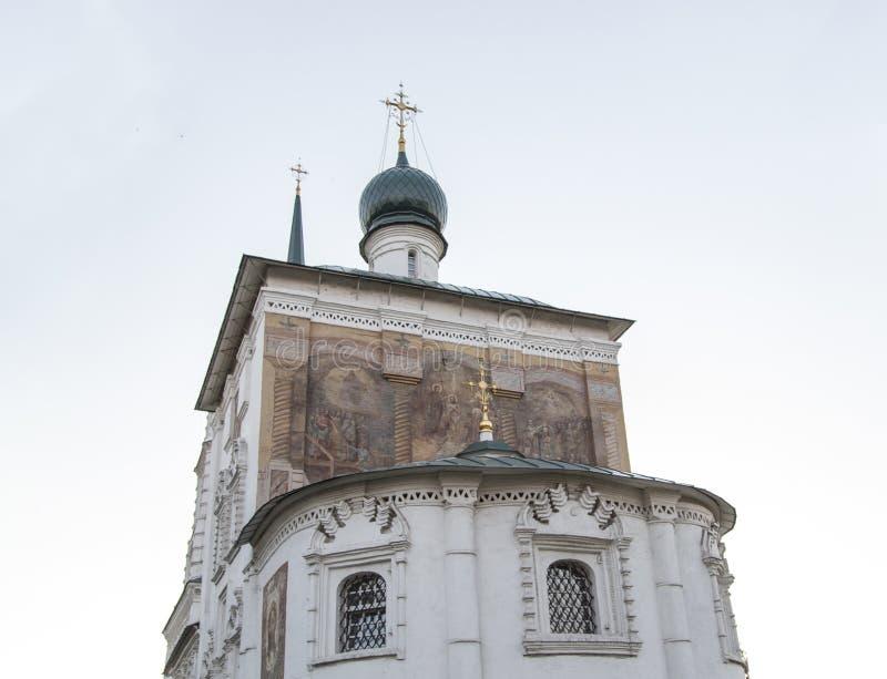 Katedra Christ wybawiciel w Irkutsk, federacja rosyjska zdjęcia stock