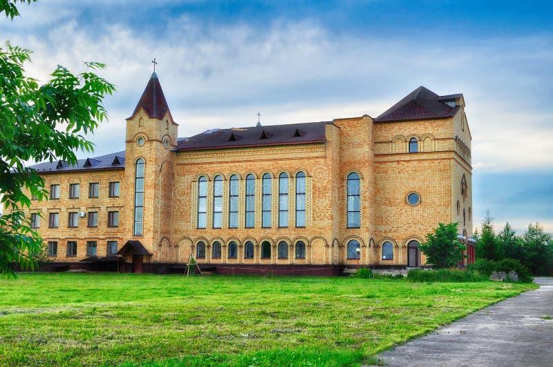 Katedra Chrystus, Chrześcijański Ewangelicki kościół w Veliky Novgorod, Rosja obrazy royalty free