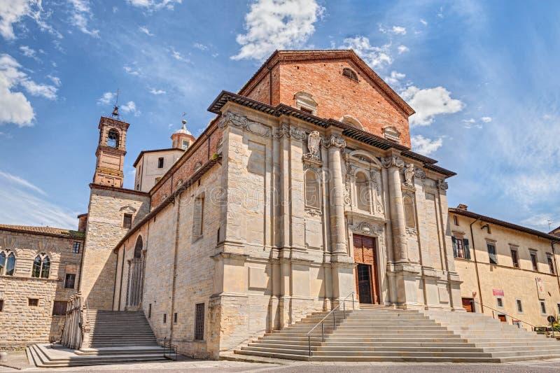 Download Katedra CittàDi Castello, Perugia, Umbria, Włochy Zdjęcie Stock - Obraz złożonej z chmury, kościół: 41955638