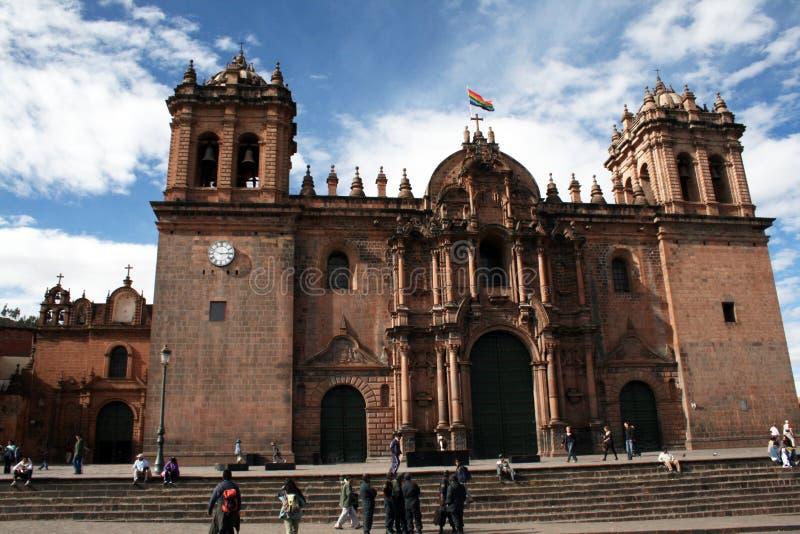 Katedra cuzco fotografia stock