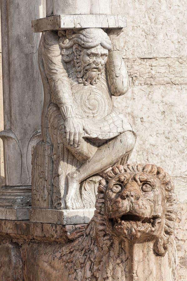 Katedra Ferrara (Włochy) obrazy stock