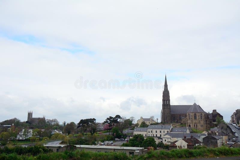 Katedra i St Patrick kościół rzymsko-katolicki, Downpat zdjęcia royalty free