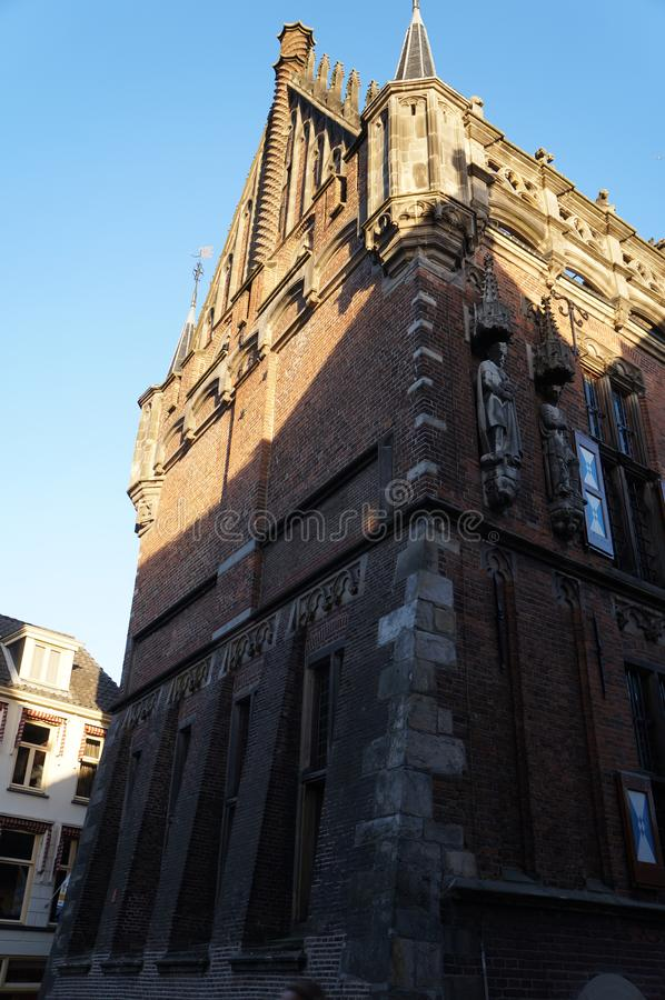 Katedra Kampen w holandiach obrazy royalty free