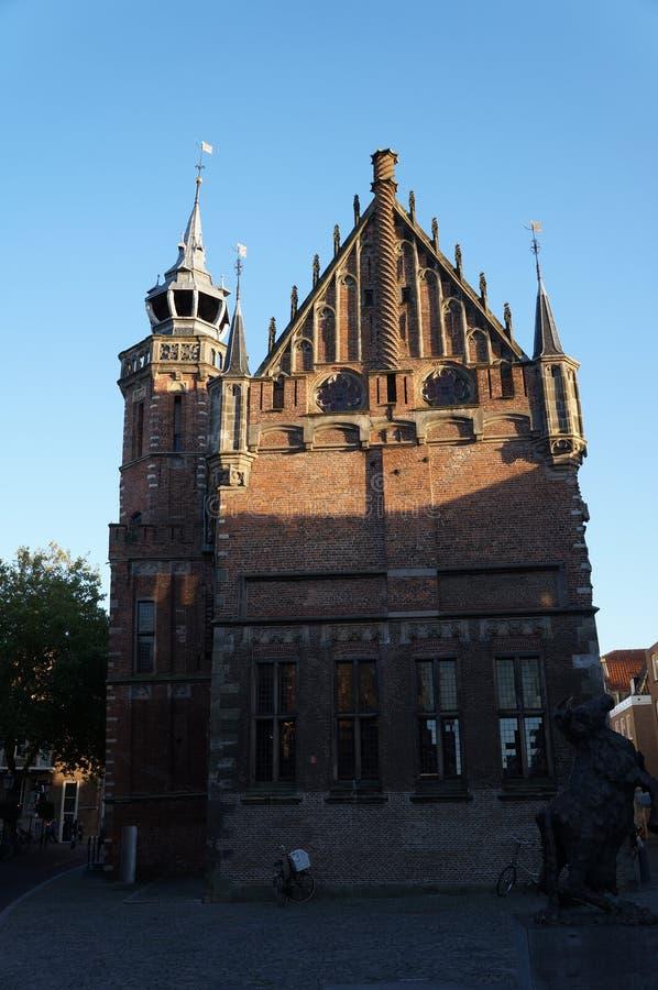 Katedra Kampen w holandiach obraz stock