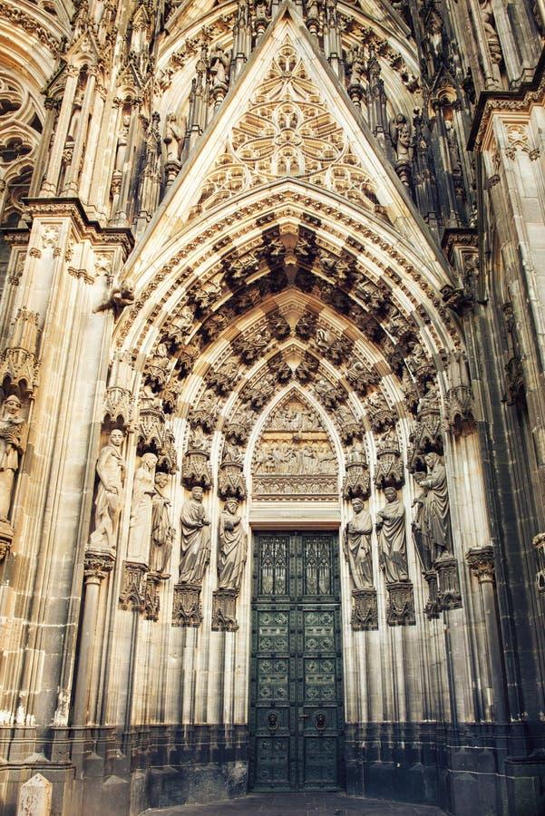Katedra Koloński szczegół zdjęcia stock