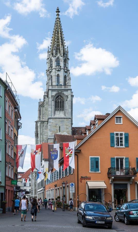 Katedra Konstanz fotografia royalty free