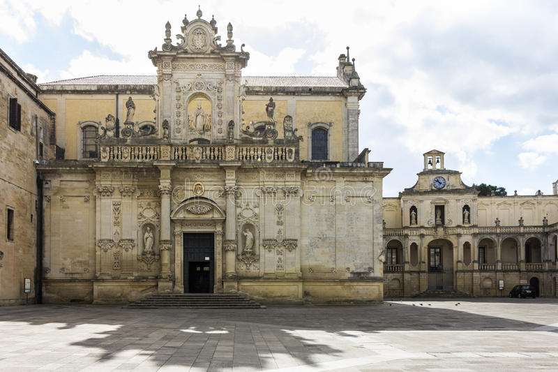 Katedra, Lecka obraz stock