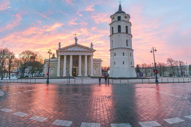 Katedra Lithuania w Vilnius obrazy stock