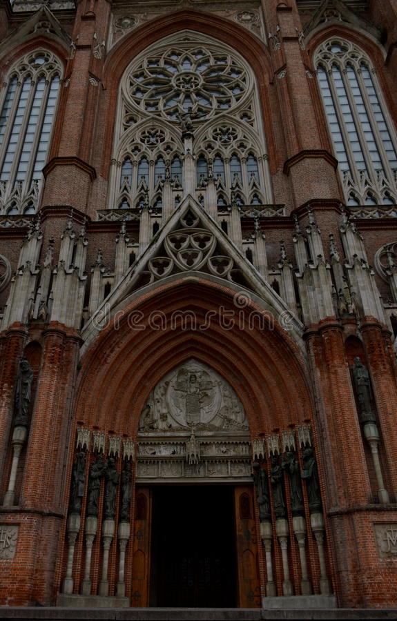 Katedra los angeles Plata zdjęcia stock