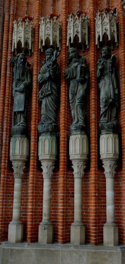 Katedra los angeles Plata zdjęcia royalty free