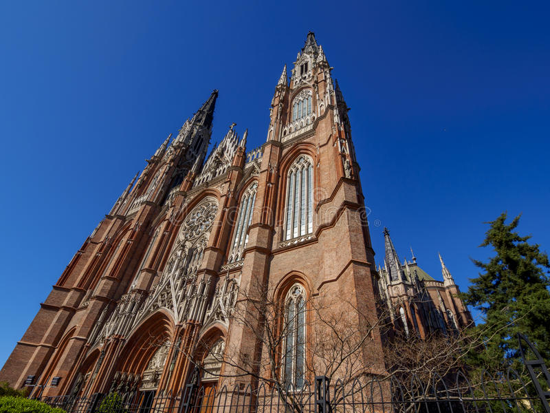 Katedra los angeles Plata, Argentyna obrazy royalty free