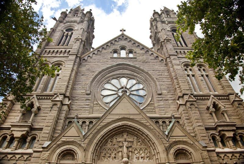 Katedra Madeleine w Salt Lake City zdjęcia stock