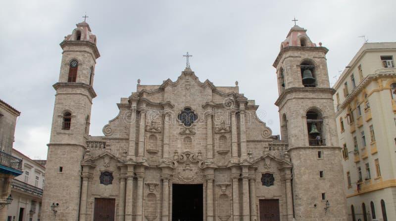 Katedra maryja dziewica Niepokalany poczęcie w Hawańskim, Kuba zdjęcia royalty free
